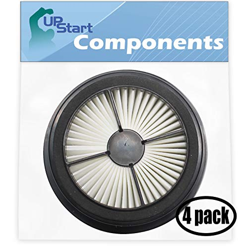 UpStart Battery 4-Pack Replacement for Dirt Devil Quick Lite Plus Bagless Upright UD20015 Vacuum HEPA Filter - Compatible with Dirt Devil F44 Filter