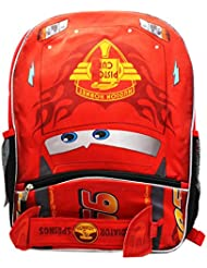 Pixar Cars McQueen Backpack with Front Pocket-16