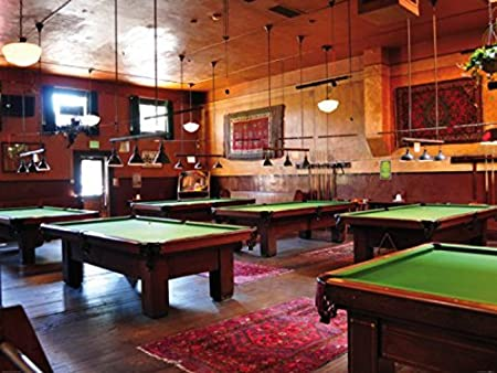 1art1 Billar - Pool Saloon, 2 Partes Fotomural Autoadhesivo (240 x ...