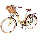 Benotto MSDCIT2607UNCR Bicicleta de Aluminio Rodada R26, Dama, Frenos V, 7 Velocidades