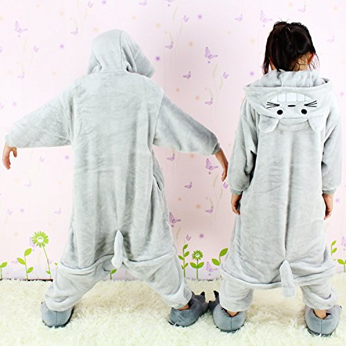 Amazon.com: Childrens Chinchilla Pyjamas Kids Animal Pajamas Cosplay Anime Pijamas (M): Clothing