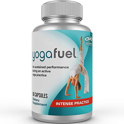 Yoga Fuel – Energy to maximize your yoga practice – Strength and endurance when you need it – Electrolytes for peak performance – Increase stamina for Bikram, Ashtanga, Vinyasa, Iyengar, Power & Hatha – Highest quality natural performance supplement.