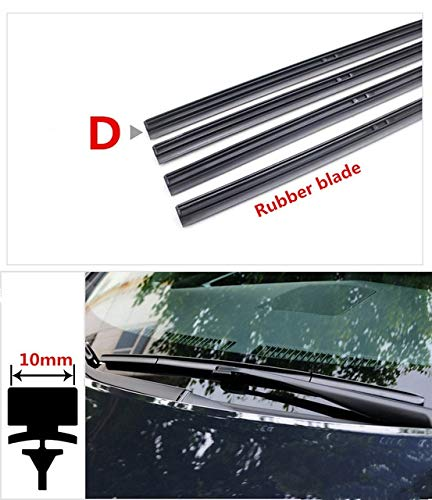 Wipers Windshield Wiper Blade (Refill) Insert Rubber strip for tesla model 3 s x Roadster car accessories - (Item Length: 27