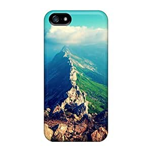 For Iphone Case, High Quality Amazing Mountain View For Iphone 5/5s Cover Cases