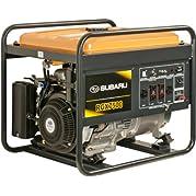 Subaru RGV12100 14.0 HP Gas Powered Industrial Generator, 7500W