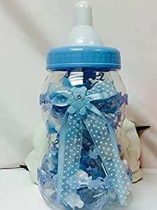 Amazon Com Baby Boy Blue Fillable Baby Bottle