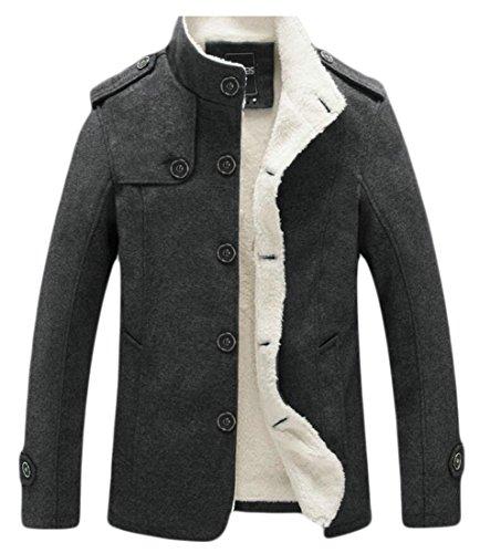 1 Jacket amp;W Outdoor Parka Thick M Men's Lining Coat amp;S Fleece Cotton PYx5xwvTZq