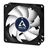 Arctic AFACO-08000-GBA01 F8-80 mm Standard Case Fan, Ultra Low Noise Cooler, Silent Cooler with Standard Case, Push- or Pull Configuration Possible