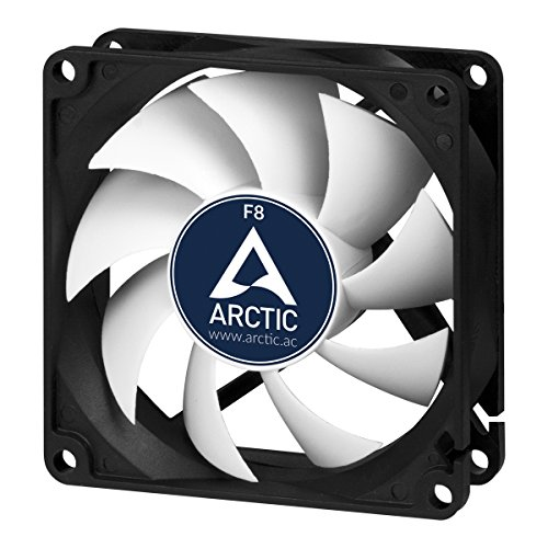 ARCTIC AFACO-08000-GBA01  F8 - Low Noise 80mm PC Standard Case, Effecient Cooling Fan