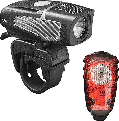 NiteRider Lumina Micro 350 and Solas 30 Headlight and Taillight Combo