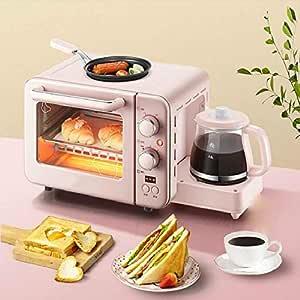 Máquina desayuno multifunción 1400 vatios, mini horno eléctrico ...