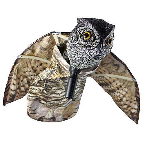 Bird Repellent Owl Horned Deterrent