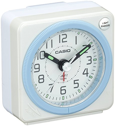 CASIO TQ 146 7JF analog travel clock