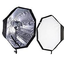 """CanadianStudio Pro 32"""" Octagon Umbrella Softbox Octagonal Speedlite, Studio Flash, Speedlight Umbrella Softbox flash softbox"""