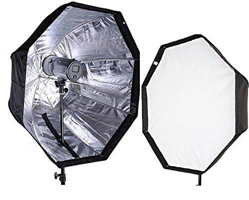 CanadianStudio Pro 32' Octagon Umbrella Softbox Octagonal Speedlite, Studio Flash, Speedlight Umbrella Softbox flash softbox S-80