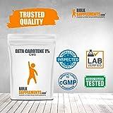 BulkSupplements Beta Carotene 1% (CWS) Powder