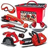 JOYIN 8 Pieces Construction Tool Toy Playset