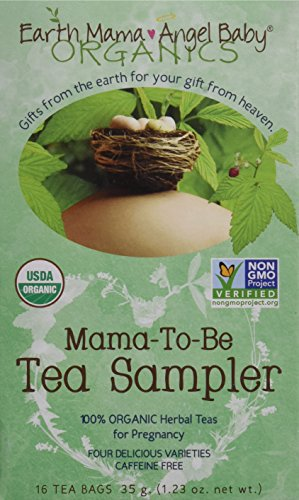 Earth Mama Angel Baby Tea Sampler, 16 Count