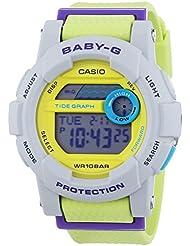 Casio BGD-180-3ER Ladies Baby-G G-Lide Grey Yellow Watch