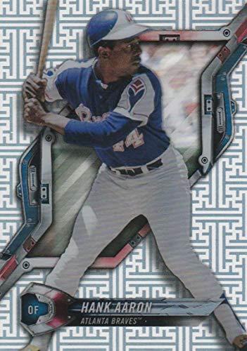 2018 Topps High Tek Pattern 4 Circuit Board #HT-HA Hank Aaron Atlanta Braves Baseball Card