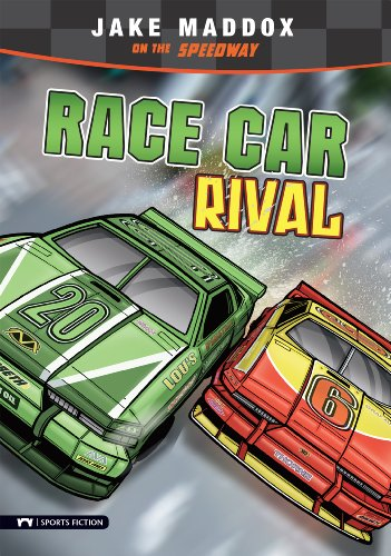 (Race Car Rival (Jake Maddox Sports Stories))