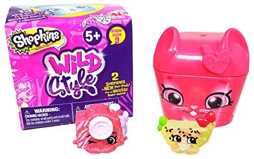 Shopkins ID56695 Surprise Pack Season 9 Wild Style