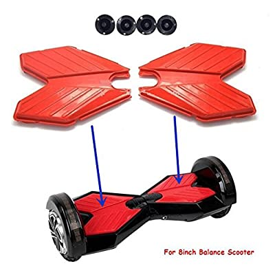 wfive Rubber Top Foot Pads Pedal Cover for 8 inch Hoverboard and Self Balancing Electric Scooter : Sports & Outdoors