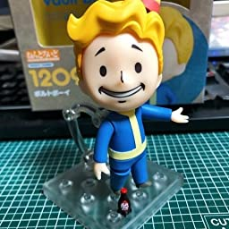 Amazon Co Jp Nendoroid Fallout Voltboy Non Scale Abs Pvc Pre Painted Action Figure Hobby