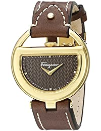 Women's FG5060014 Gold Ion-Plated Stainless Steel Watch with Diamond Markers