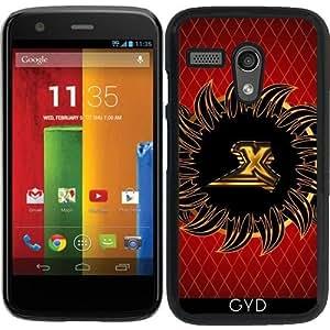 Funda para Motorola Moto G (Generation 1) - Monograma Diseño X by nicky2342
