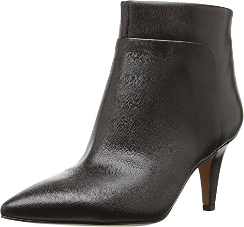 Nine West Women's Jinxie Dark Brown Leather Boot 8.5 M