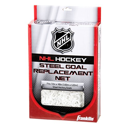 - Franklin Sports Hockey Goal Replacement Net - 72 x 48 Inch - NHL - White