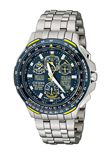 Citizen Men's JY0050-55L Blue Angels Skyhawk A-T Titanium...