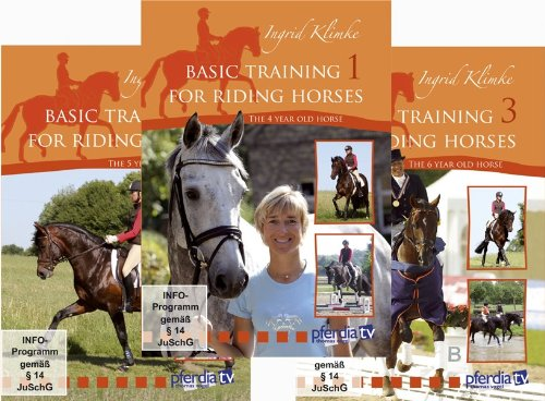 Basic Training for Riding Horses, Vol.1 - 3 Ingrid Klimke