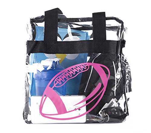 Mato /& Hash® Clear Stadium Tote BagStadium Approved