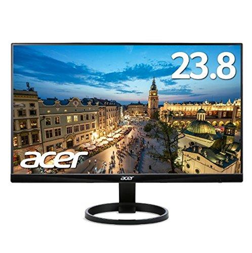 Acer モニター ディスプレイ R240HYAbmidx (23.8インチ/VA/非光沢/フルHD/DVI-D(HDCP対応)HDMI) B074X2N3MS  単品