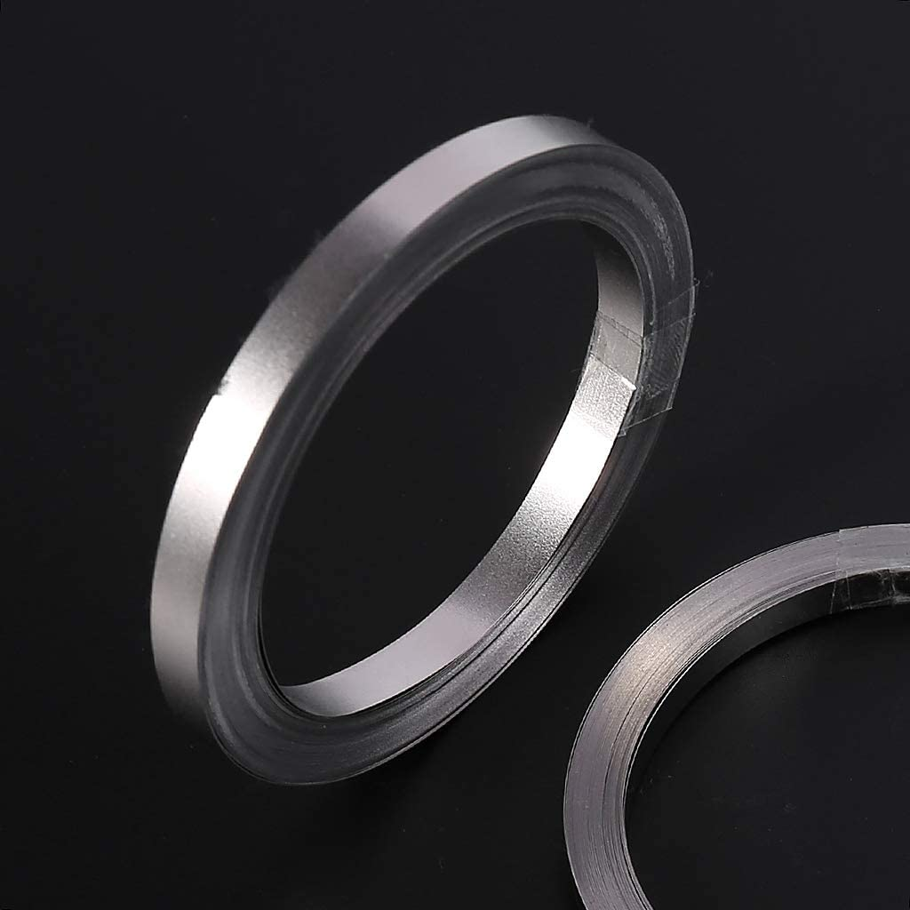 0.15x8mm JunYe 10m Nickel-Plated Strip Tape for Li 18650 Battery Spot Welding 0.1x5mm//0.15x6mm