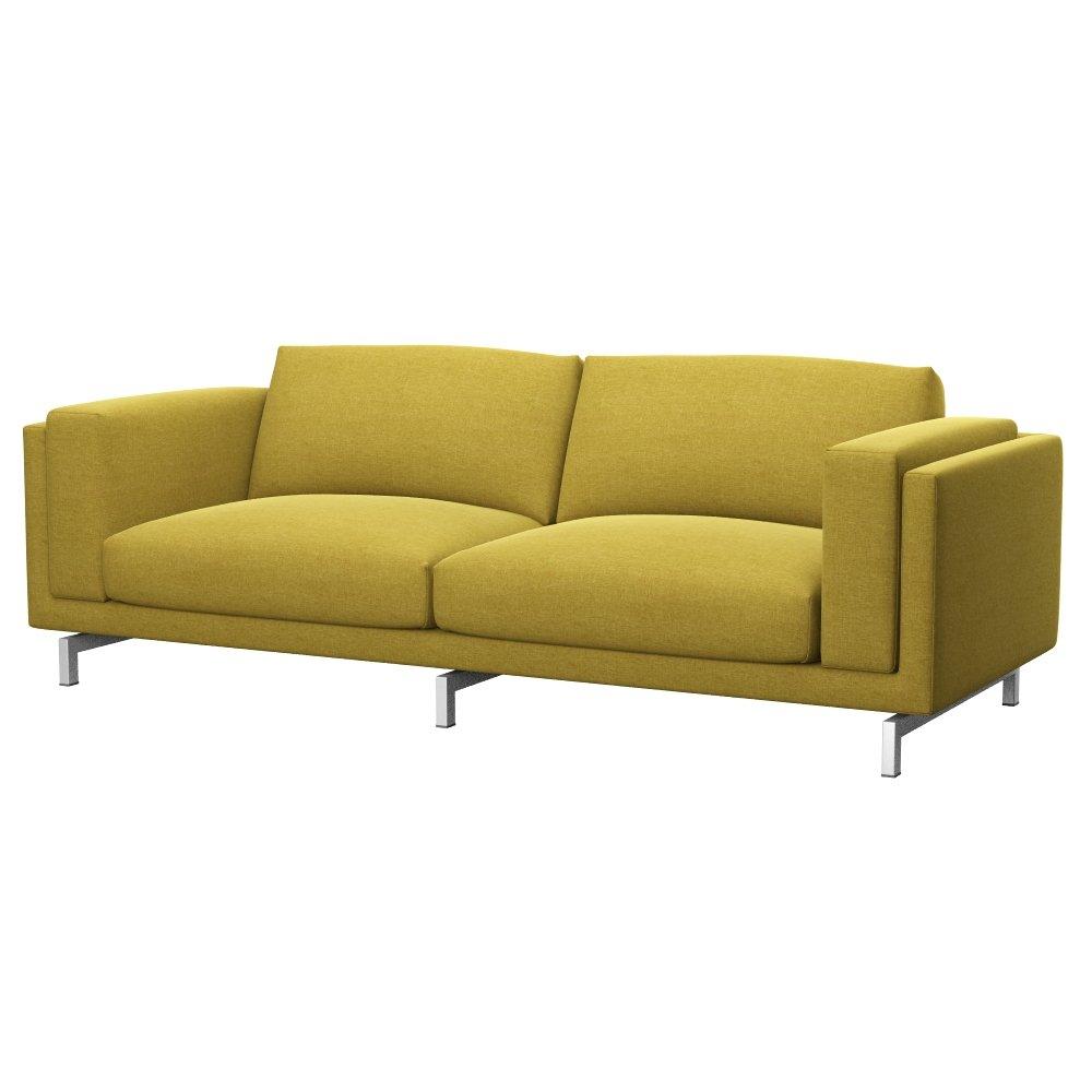 Soferia - IKEA NOCKEBY Funda para sofá de 3 plazas, Classic ...