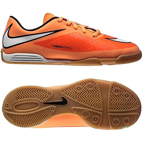 Nike Jr Hypervenom Phade Ic Calzatura, Arancione/Bianco/Nero