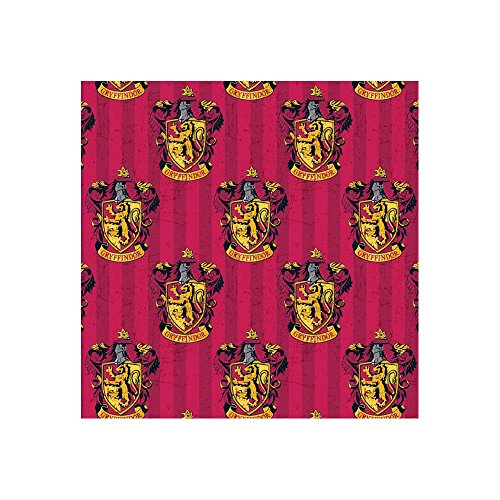 (Harry Potter Gryffindor Red Fabric by the)