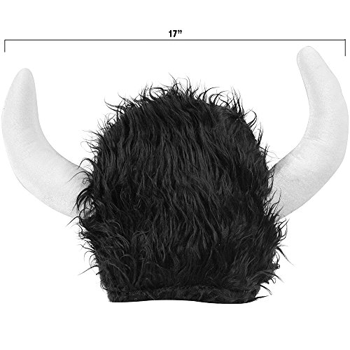 Funny Party Hats Viking Helmet with Horns- Viking Costume Hat