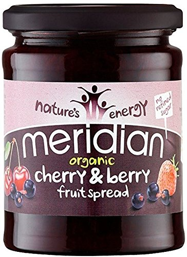 Meridian Cherry - Meridian Organic Cherry & Berry Fruit Spread 284g (Pack of 4)