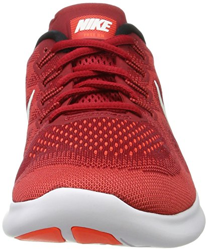 Nike Mens Free Rn 2017 Hk, Game Rood / Off White-track-rood, 8 M Us