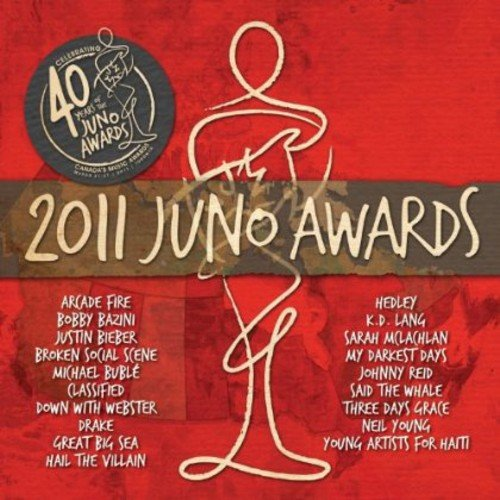 CD : 2011 Juno Awards / Various (CD)