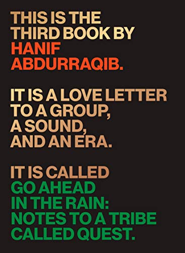 Pdf eBooks Go Ahead in the Rain: Notes to A Tribe Called Quest (American Music)