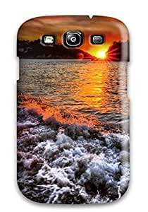 Awesome Design Beach Foam Hard Case Cover For Galaxy S3