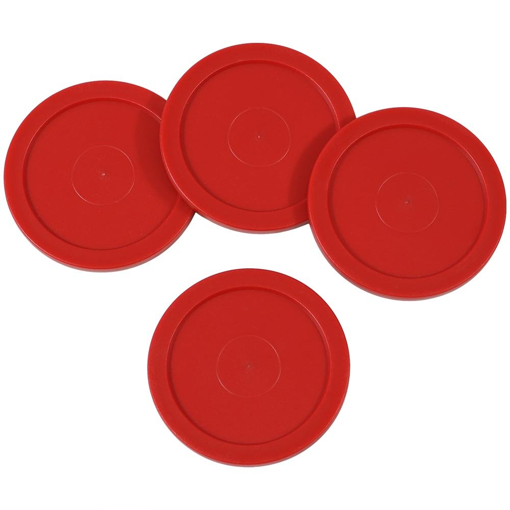 Sunnydaze Large 2.5 Inch Replacement Air Hockey Table Pucks, Options Available 4 Pack Sunnydaze Decor