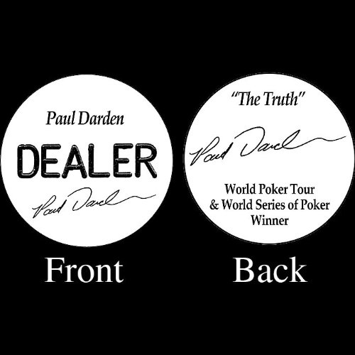 Trademark Paul Darden Professional Collector's Dealer Button