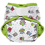 Best Bottom Cloth Diaper Shell-Hook and Loop, Hoot
