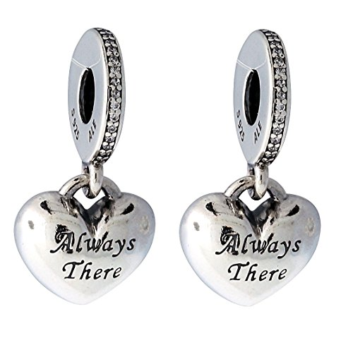 PANDORA 791950CZ Best Friends Dangle Charm